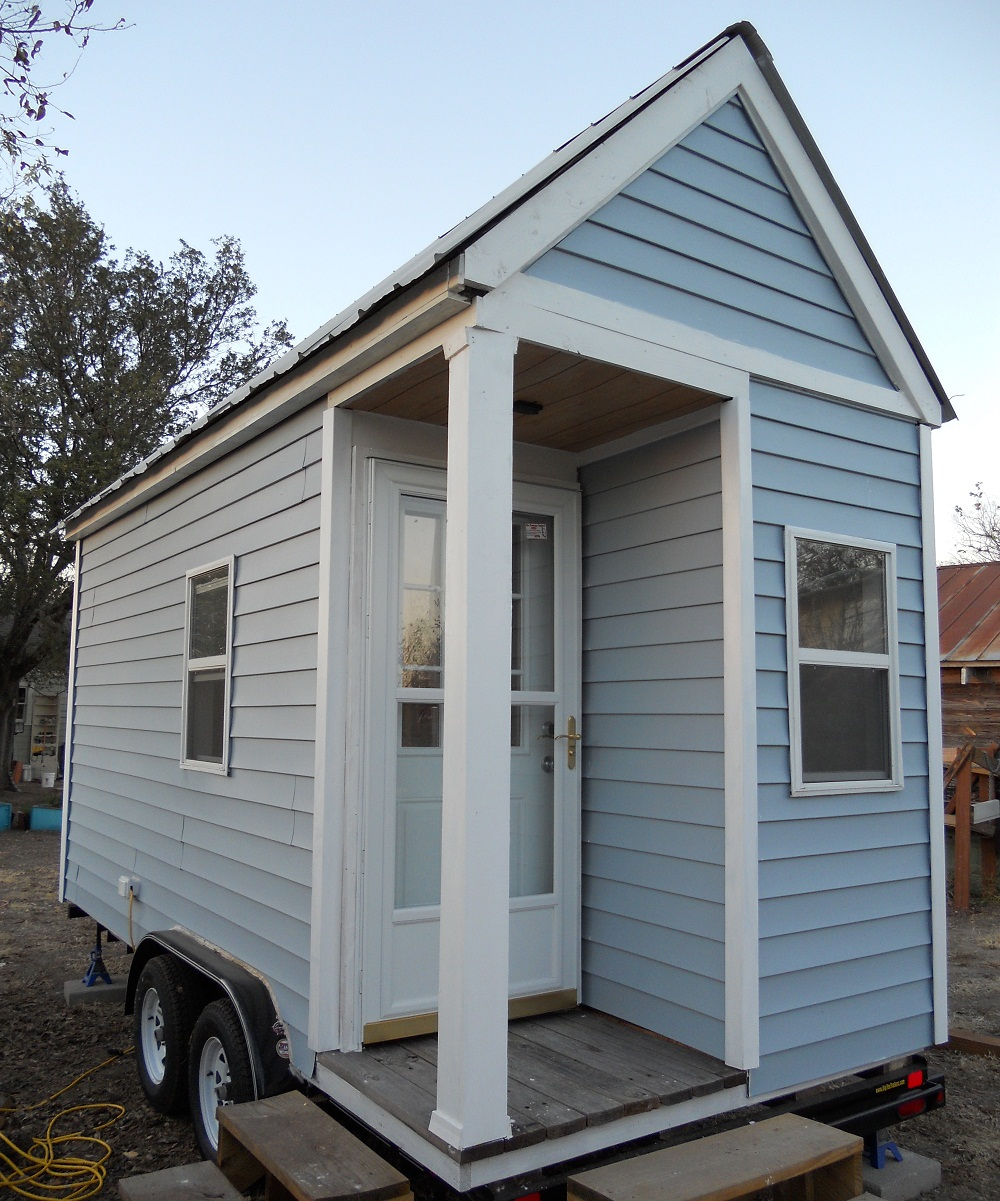 simplicity is beautiful simplicity is affordable on tiny house austin boulder tiny house front
