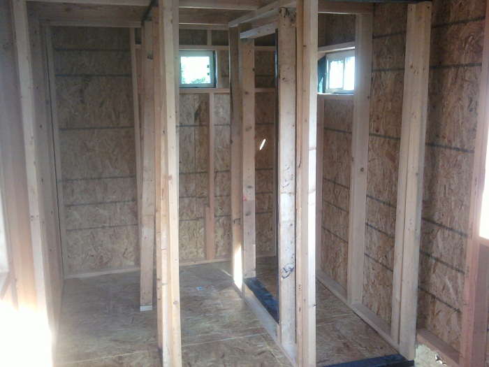 Tiny House Interior Framing
