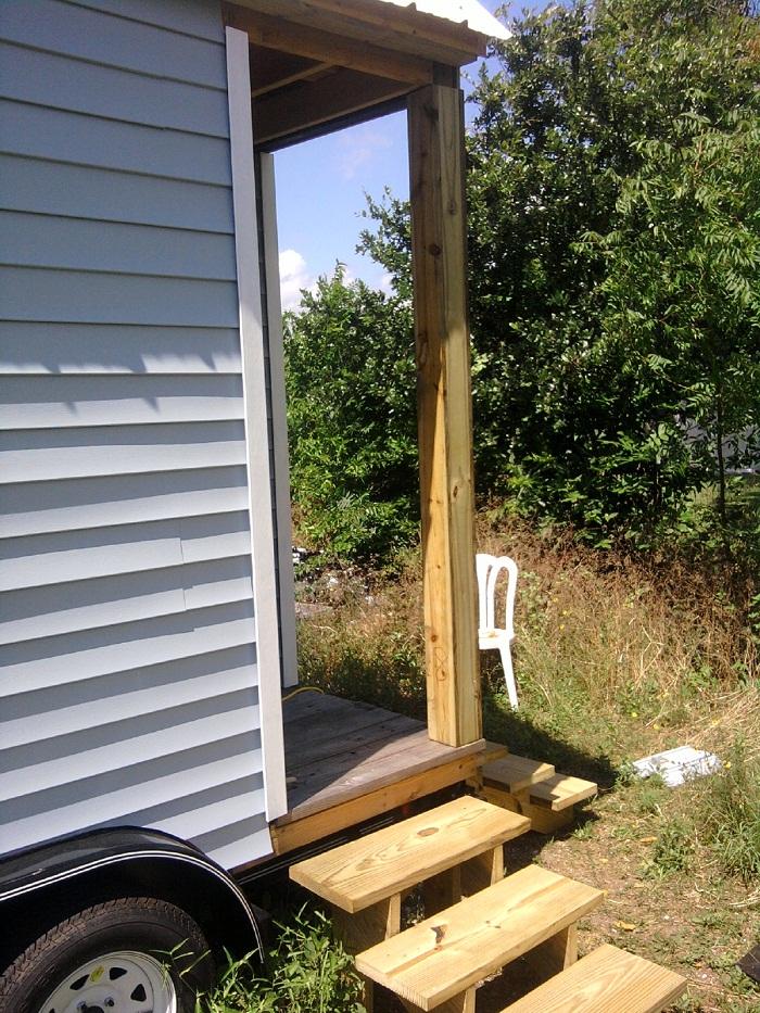 Porch trim