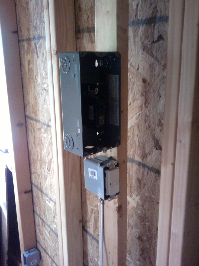 GFCI and breaker box