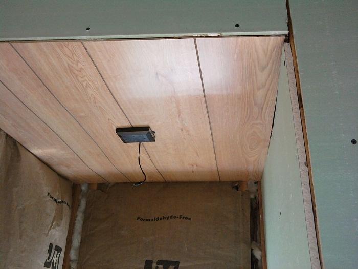 Nook ceiling