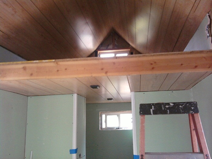 Ceiling and drywall