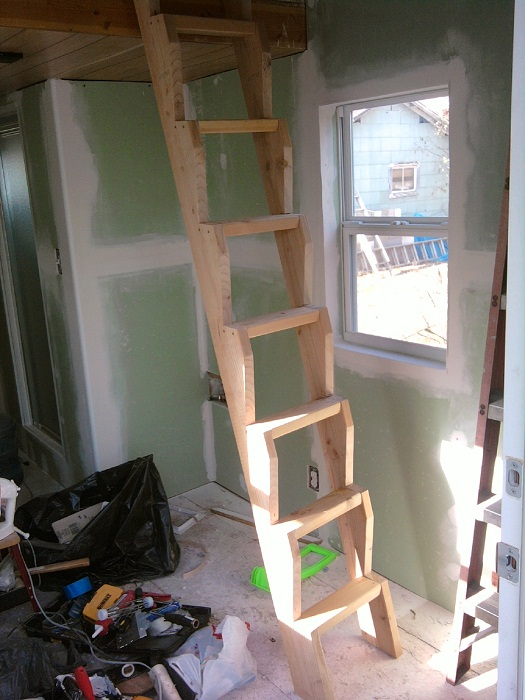 Tiny House Ladder