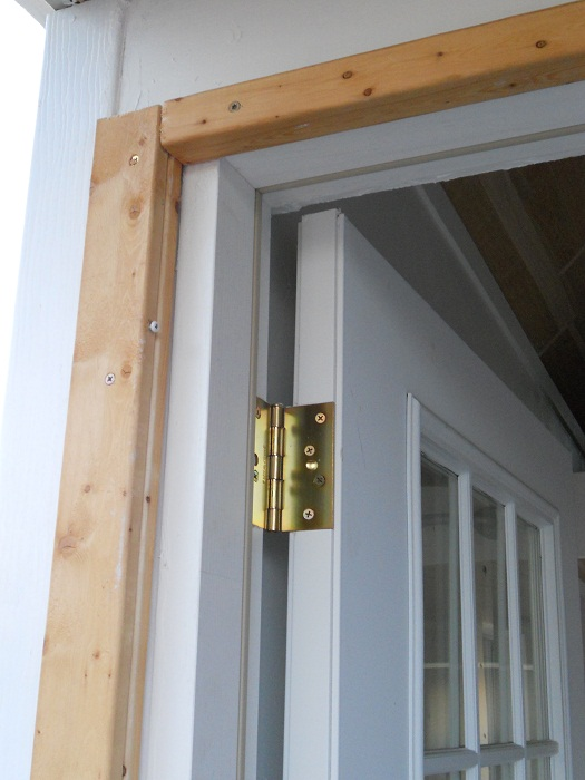 Storm Door Framing