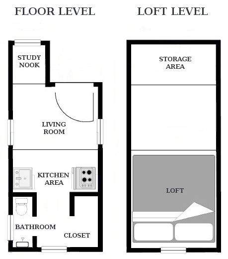 Tiny House Floor Plans - Tiny Houses and Simple Living