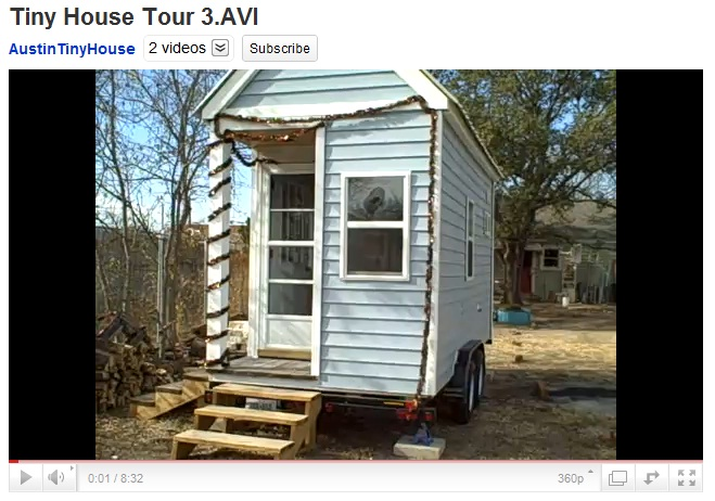 YouTube Tiny House Tour