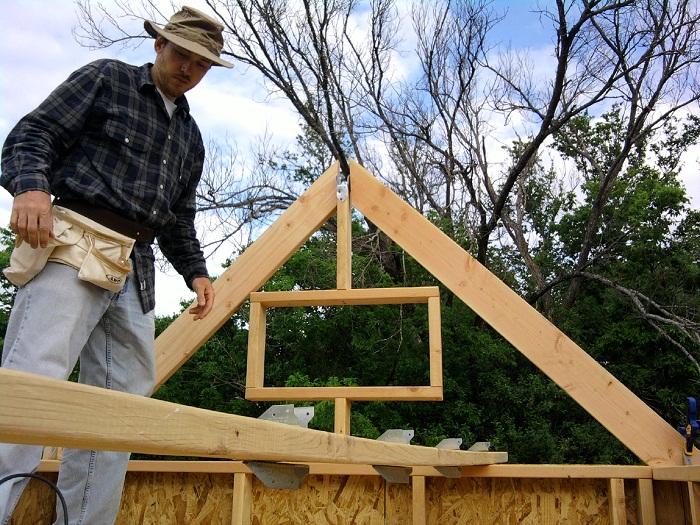Installing Tiny House Ridge