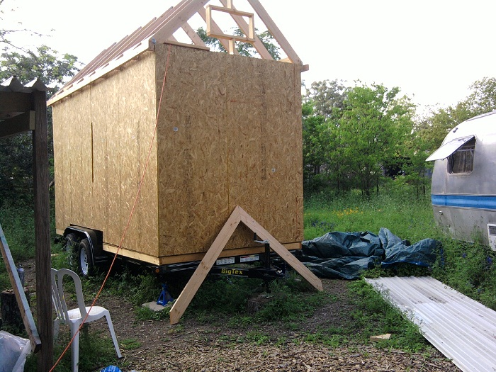 Tiny House Rafters And Fascia