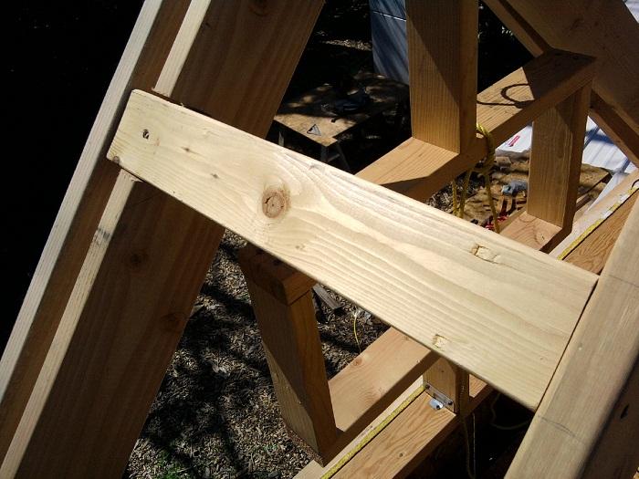 Tiny House Roof Framing