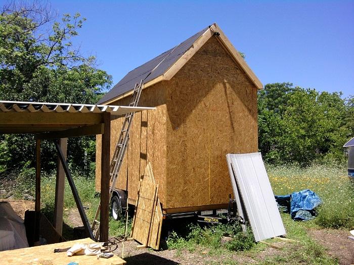 Tiny House Roofing Felt