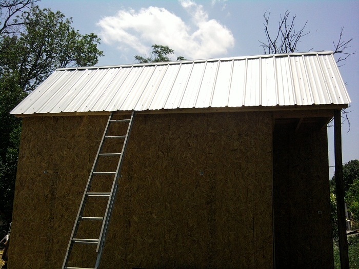 Tiny House Metal Roof